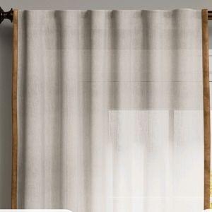 Light Filtering Curtain Velvet One Panel